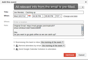 expedia how to add to gmail calendar