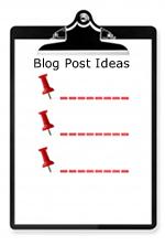 List for Blog Post Ideas