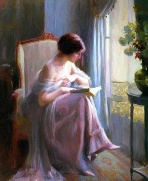 woman-reading-a-book-stefan-kuhn